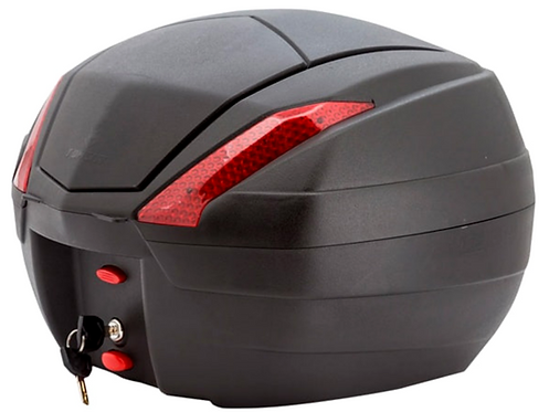 Maletero Baúl Moto Tomcat 34 Litros