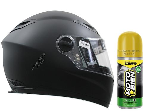 Casco Ich Moto Integral 501r Eliminador Olor Placa Gratis
