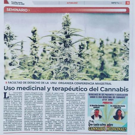 Perú mueve la rueda educativa y quiebra paradigmas sobre cannabis