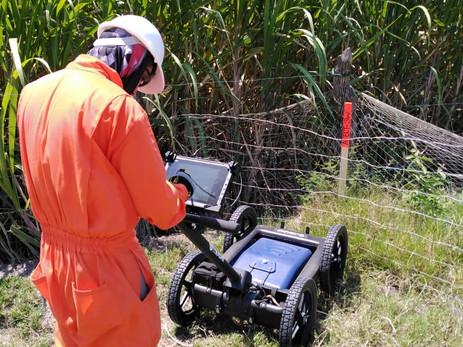 Georadar Gpr. Ground Penetrating Radar
