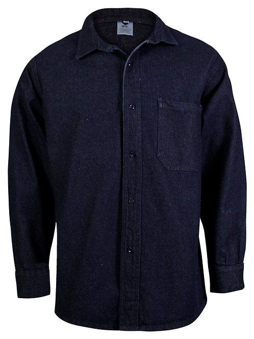 Camisa industrial de mezclilla 14 oz. IPF