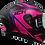 Thumbnail: Casco Moto Integral Ich Certificado 503 Gratis Placas fucsia