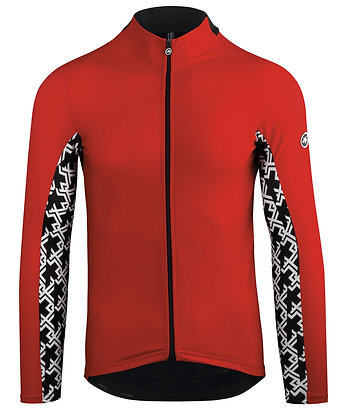 MILLE GT Spring Fall LS jersey red