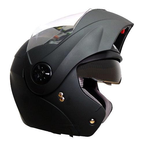 Casco Moto Abatible Certificado Ich Dot Gratis Placas
