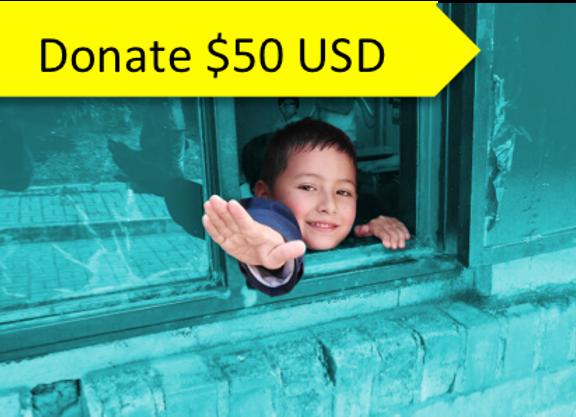 Donate $50 USD