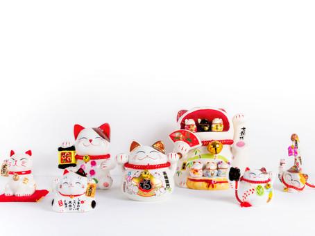 MANEKINEKO | o  gatinho japonês da sorte