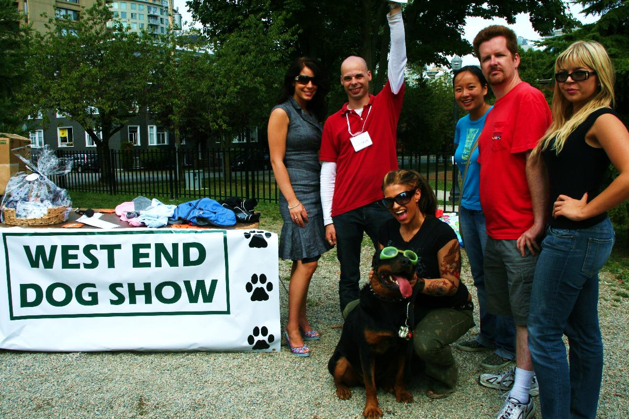 west end dog show