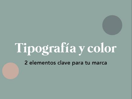 Tipografía y Color: Dos elementos clave en la Identidad Corporativa de tu marca