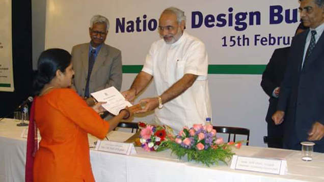 Awarded by Shri Narendra Modi