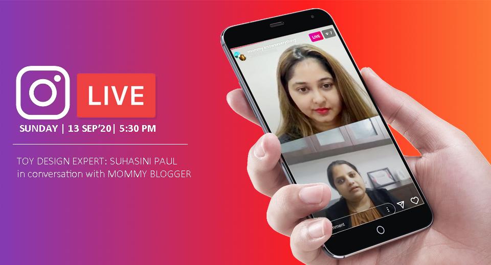 Suhasini-paul-toy designer on insta live
