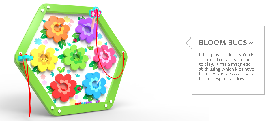 Bloom Bugs wall games designed-by-suhasini-pa