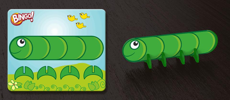 caterpiller  bingo toys by suhasini paul