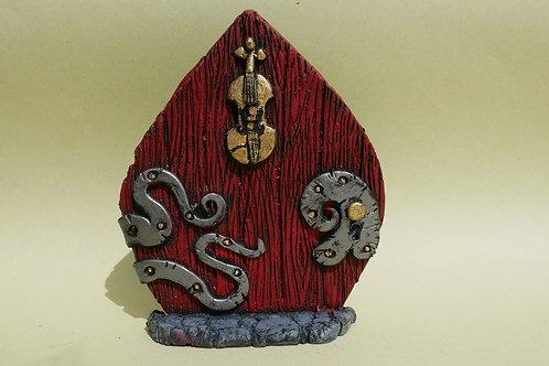Fiddle Fairy Door