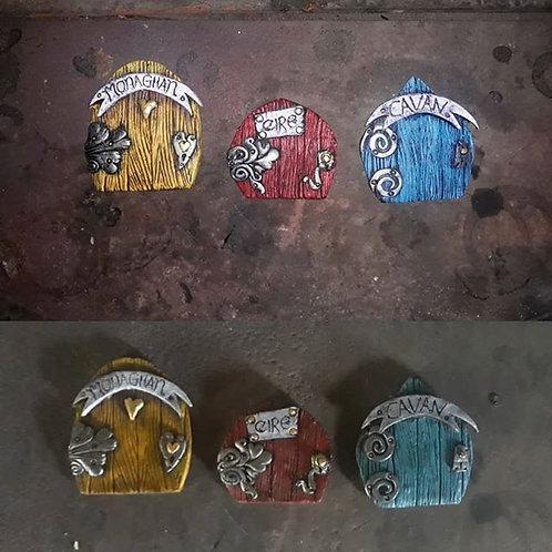 County Fairy Door Magnets