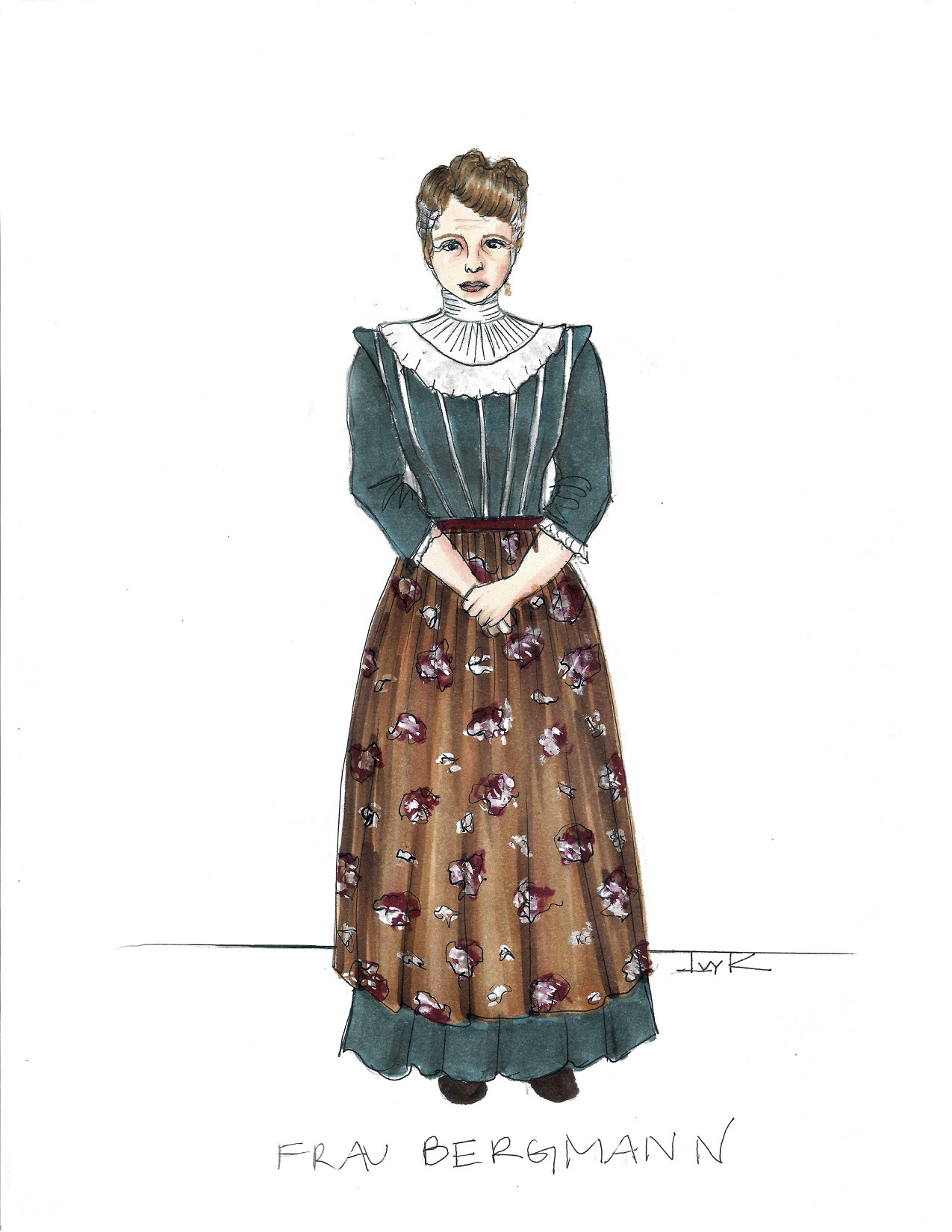 Frau Bergmann