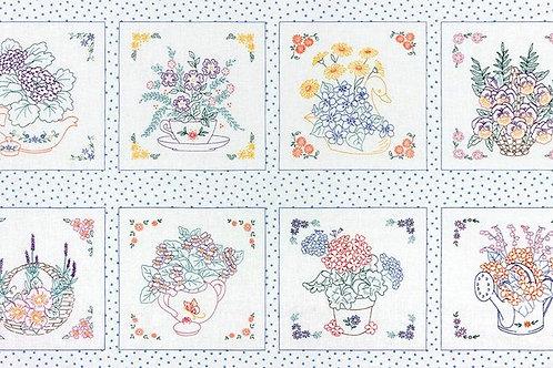 Teapot Garden - Multicolor