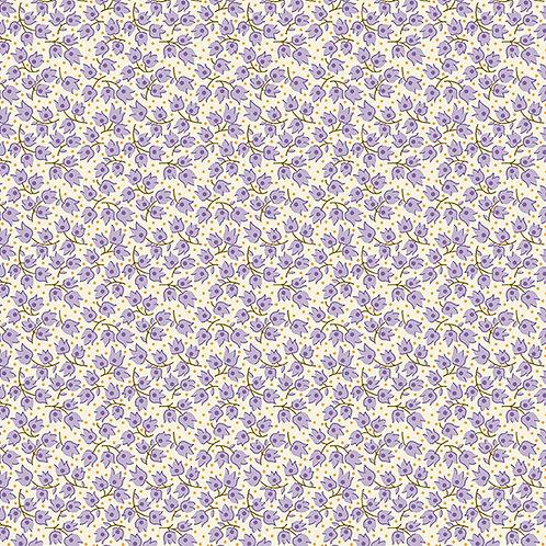 Darling Clementine - Runaway Blossoms Purple