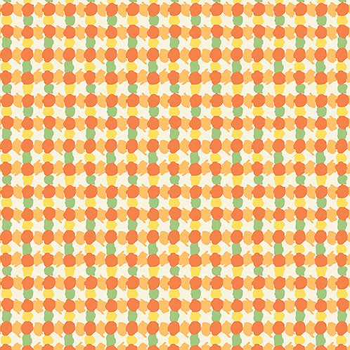 Darling Clementine - Daubs Grid Orange