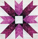 bohemian star quilting square.jfif