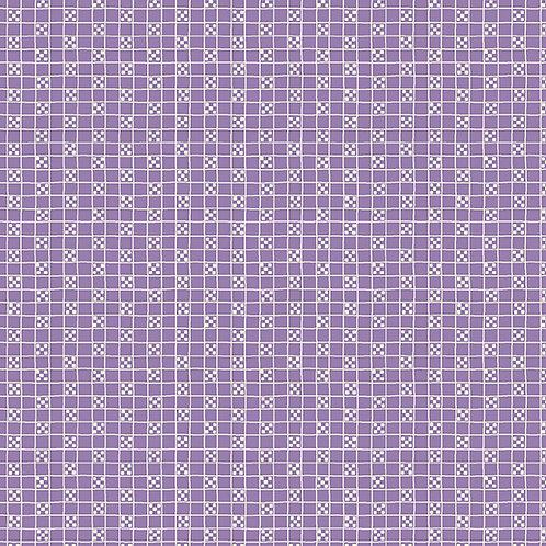 Darling Clementine - Tic Tac Toe Purple