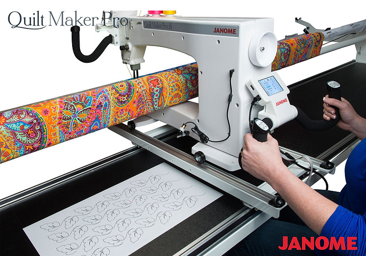 janome Quilt Maker Pro 18 with ProStitch