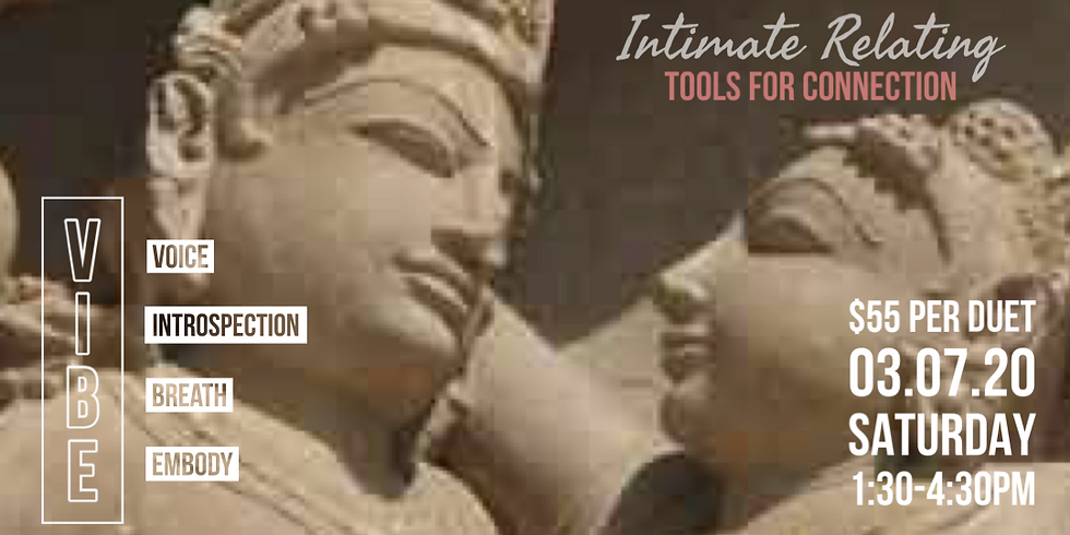 Intimate Relating: Tools for Connection V.I.B.E