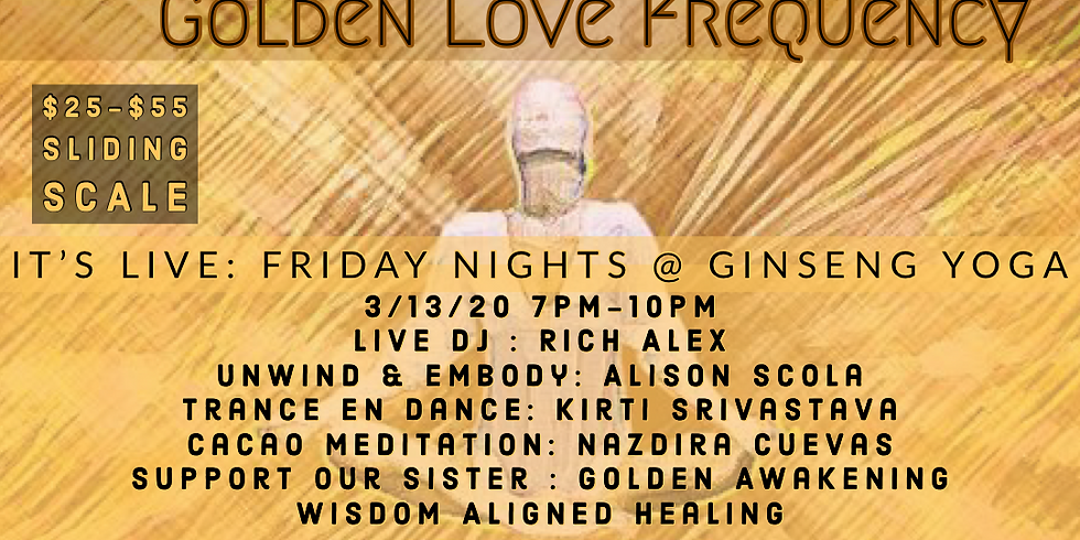 Golden Love Frequency @ It's Live at Ginseng