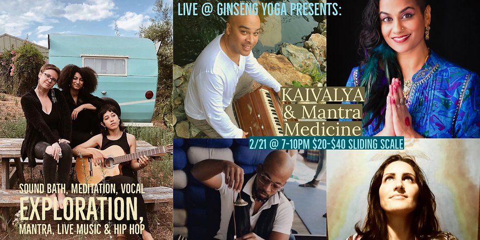 It's Live! Weekly Music@Ginseng Yoga in South Park