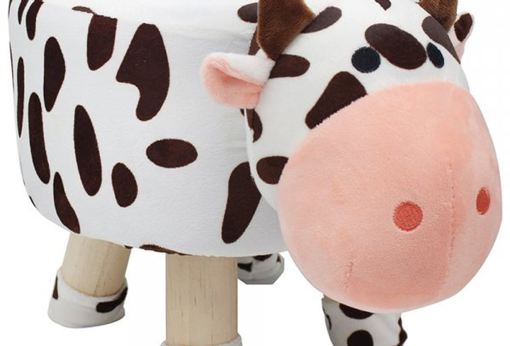 Cow footstool