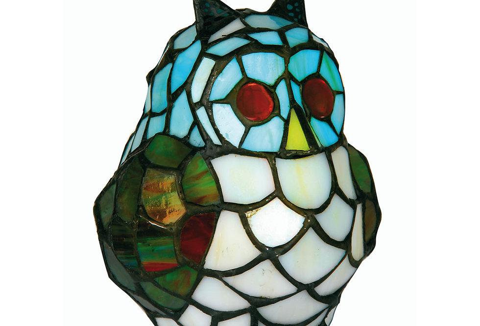 Owl novelty tiffany  light