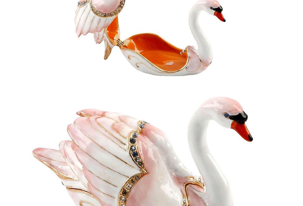Treasured Trinkets White Swan