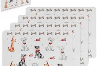 FAITHFUL FRIENDS DOG PLACEMATS, 29CM