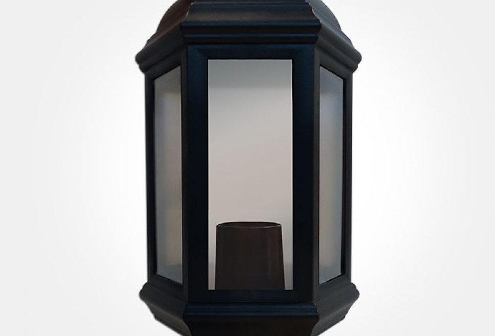 60W Max polycarbonate half lantern