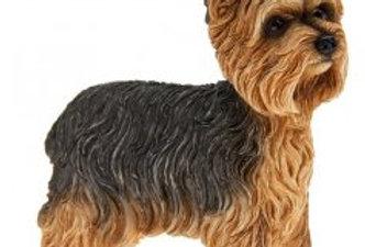Yorkshire Terrier Dog Figurine by Leonardo