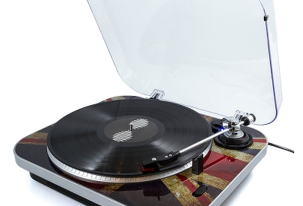 The JAM, 3 speed record player.