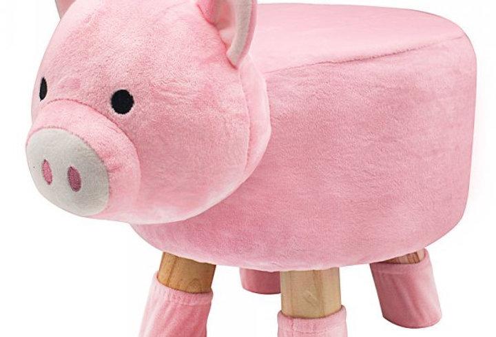 Piggy footstool