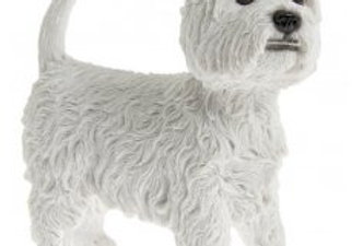 West Highland Terrier Figurine by Leonardo