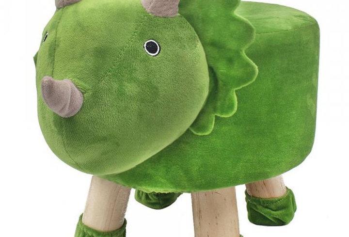 Dinosaur footstool