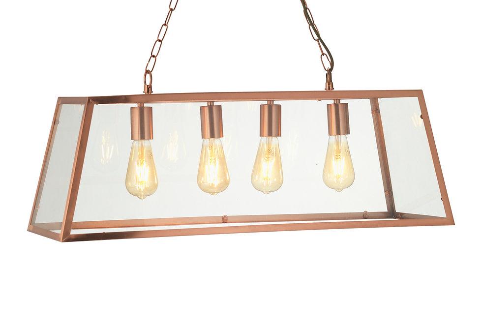 Riga 4 Light Pendant