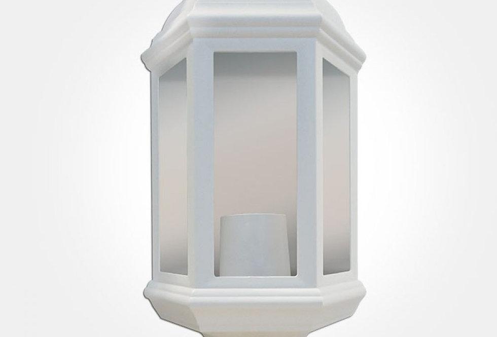 60W Max polycarbonate half lantern with 120° PIR