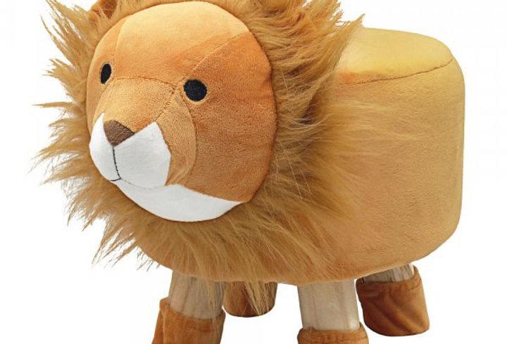 Lion footstool