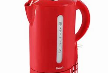 Swan 1.7L jug kettle red