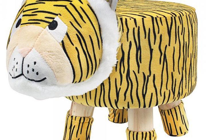 Tiger footstool