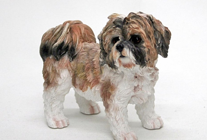 Shih Tzu Dog Brown Small by Leonardo