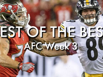 Best of the Best: AFC Week 3