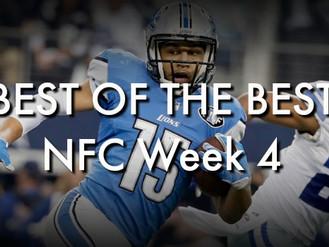 Best of the Best: NFC Week 4