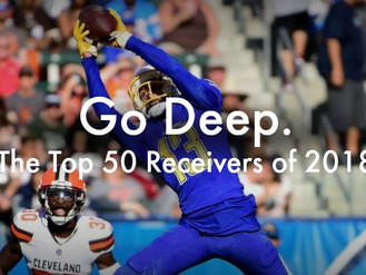 A Change in Perspective: Top 50 Fantasy Wide Receivers 2018