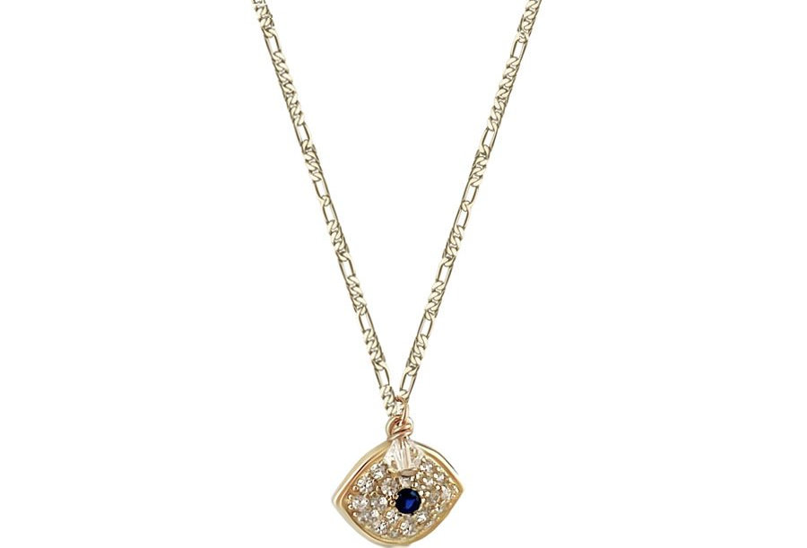 copy of Crystal Blue Protection Eye Necklace
