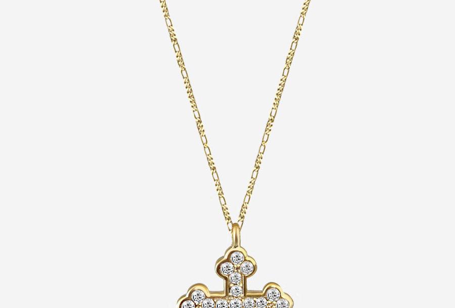 Simple - Byzantine Cross Necklace
