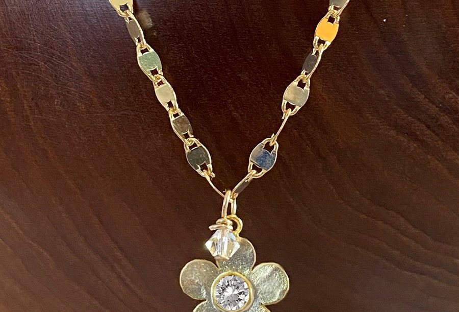 Italian Floral Necklace